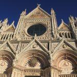 «К плитам Сиенского собора Свой натруженный взор склони...»